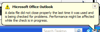 Outlook is closing randomly