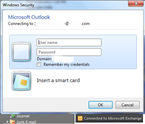 outlook login password