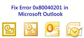 Microsoft -Outlook -Error-0x80040201